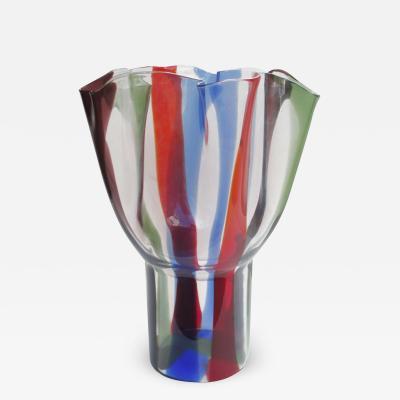 Timo Sarpaneva Kukinto A Timo Sarpaneva Italian Art Glass Vase