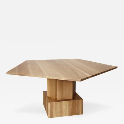 Tinatin Kilaberidze Pentagonal Dining Center table by Tinatin Kilaberidze