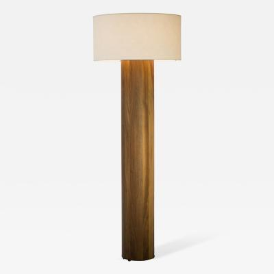 Tinatin Kilaberidze Walnut Floor Lamp by Tinatin Kilaberidze