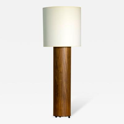 Tinatin Kilaberidze Walnut Table Lamp by Tinatin Kilaberidze