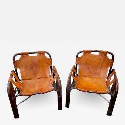 Tito Agnoli Pair of chairs