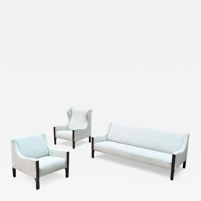 Tito Agnoli Set of sofa and armchairs by Tito Agnoli for Mobilia 1961