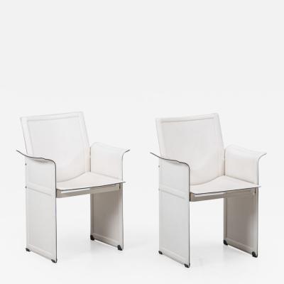 Tito Agnoli Tito Agnoli Korium chairs Matteo Grassi Italy 1970s