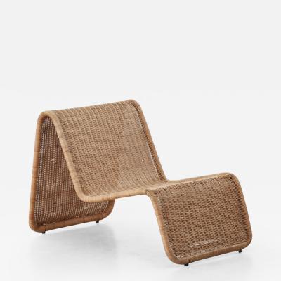 Tito Agnoli Tito Agnoli Rattan P3 Easy Chair Pierantonio Bonacina 1960s Three available