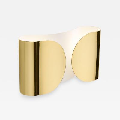 Tobia Scarpa Mid Century Modern Tobia Scarpa Model Foglia Made of Brass Italian Sconces
