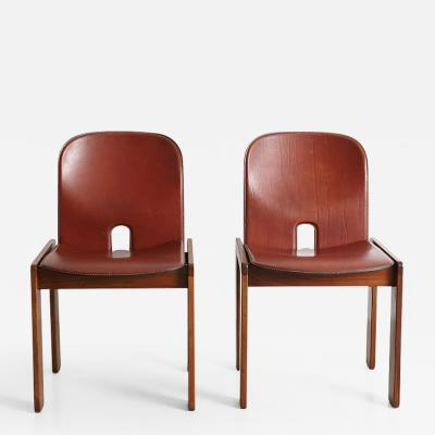 Tobia Scarpa Pair of Tobia Scarpa Dining Chairs