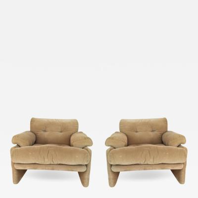 Tobia Scarpa Pair of Tobia Scarpa for B B Italia Coronado Chairs