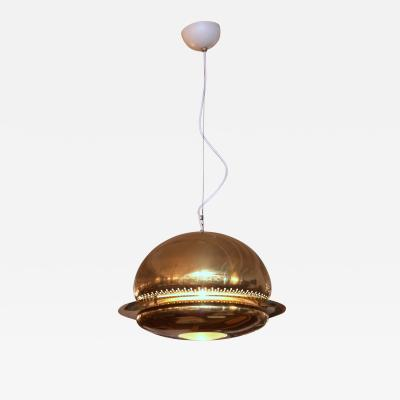 Tobia Scarpa Tobia Scarpa Nictea Brass Pendent Light made by Flos Italy 1965