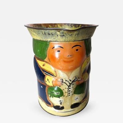 Toby Jug Still Bank and Biscuit Tin Circa 1911