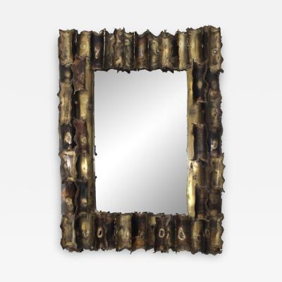 Tom Greene Tom Greene Custom Made Brutalist Mirror