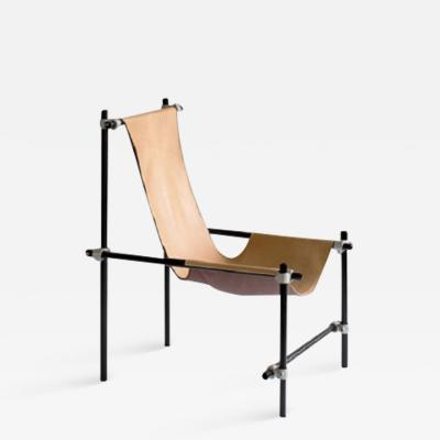 Tom Strala Chair as frame with a seat done of a piece of leather limited edition 5 50