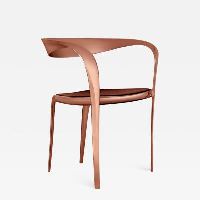 Tom Vaughan Goldsmiths Chair contemporary bronze chair by Tom Vaughan