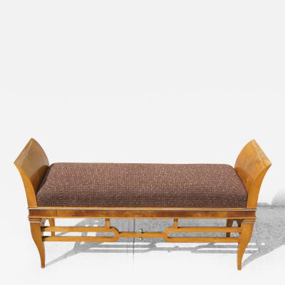 Tomaso Buzzi 1930s Upholstered Bench Attributed to Tomaso Buzzi