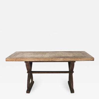 Tomaso Buzzi Tomaso Buzzi 1930s table in rustic style oak