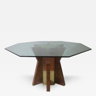 Tommaso Barbi 1970s Dining Table by Tommaso Barbi