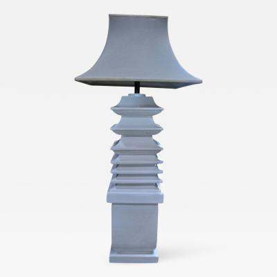 Tommaso Barbi Italian Ceramic Floor Lamp by Tommaso Barbi