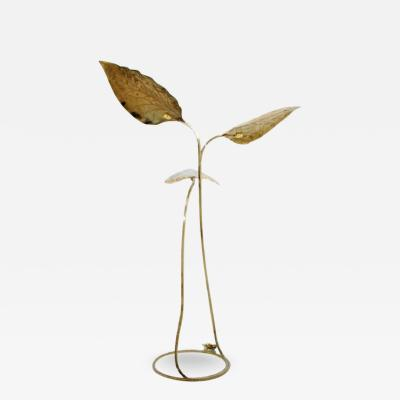 Tommaso Barbi Large Brass Floor Lamp by Tommaso Barbi