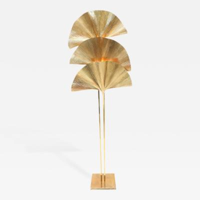 Tommaso Barbi Spectacular Gingko Leaf Floor Lamp