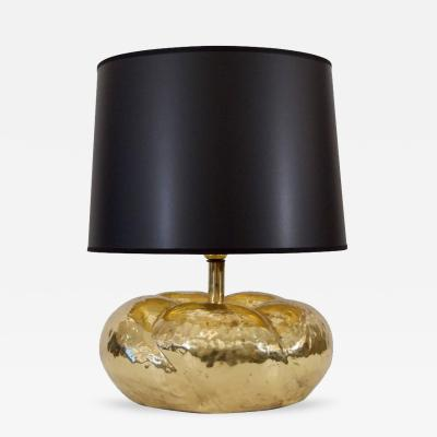 Tommaso Barbi Tommaso Barbi Attributed Organic Form Brass Table Lamp