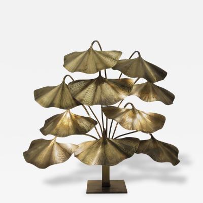Tommaso Barbi Tommaso Barbi Floor Lamp Polished Brass circa 1970 Italy