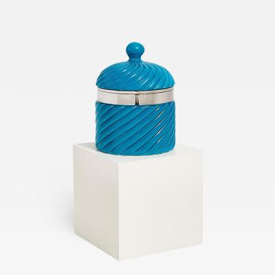 Tommaso Barbi Tommaso Barbi Large Ceramic Ribbed Ice Bucket