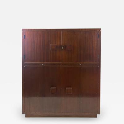 Tommi Parzinger ART DECO MAHOGANY ILLUMINATED BAR