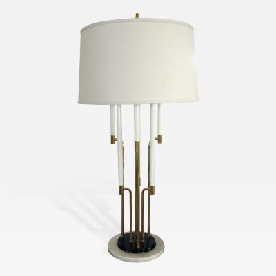 Tommi Parzinger An American Tommi Parzinger 6 Light Brass Table Lamp