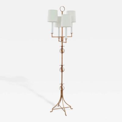 Tommi Parzinger Chic Floor Lamp by Tommi Parzinger