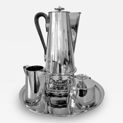 Tommi Parzinger Coffee Service With Tray Tommi Parzinger Dorlyn Silversmith