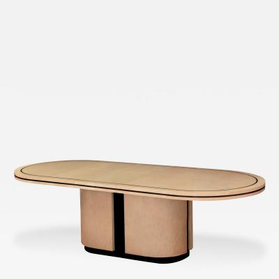 Tommi Parzinger Exceptional Dining Table by Tommi Parzinger