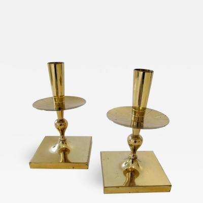 Tommi Parzinger Great Pair of Tommi Parzinger Candlesticks