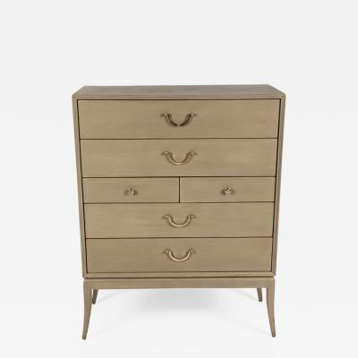 Tommi Parzinger Highboy Chest of Drawers by Tommi Parzinger