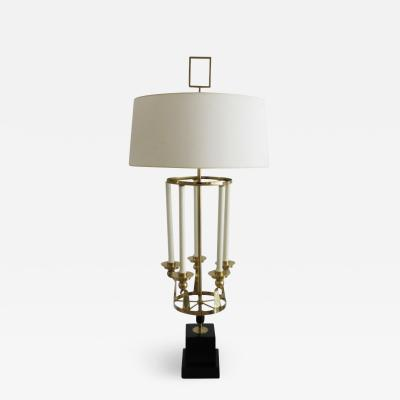Tommi Parzinger LARGE MARBRO LAMP IN THE STYLE OF PARZINGER