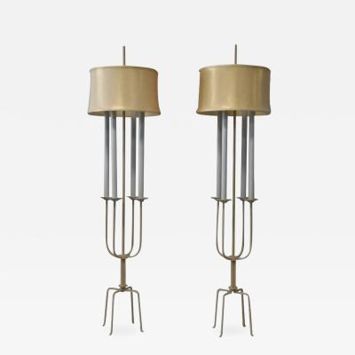 Tommi Parzinger Pair of Tommi Parzinger Floor Lamps