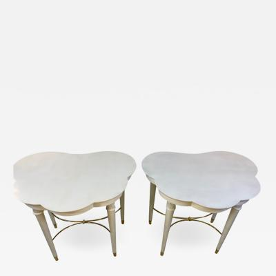 Tommi Parzinger RARE PAIR OF STYLISH TOMMI PARZINGER TABLES FOR CHARAK