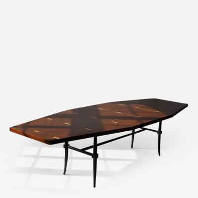 Tommi Parzinger Rare Dining Table by Tommi Parzinger