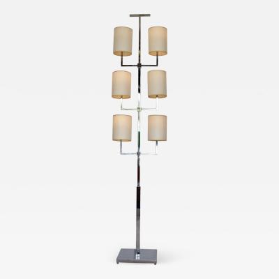 Tommi Parzinger Rare Floor Lamp by Tommi Parzinger