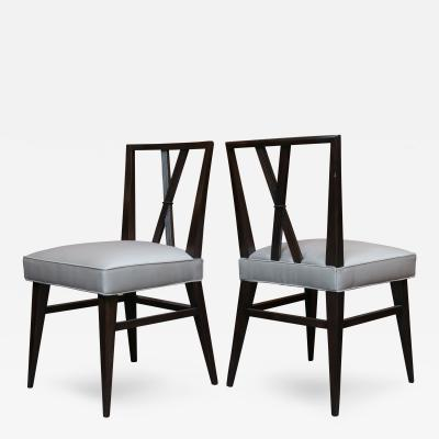 Tommi Parzinger Set of Eight Tommi Parzinger Dining Chairs
