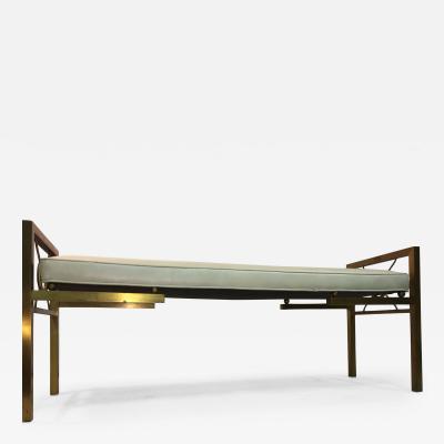 Tommi Parzinger Stunning Modernist Design Brass Bench
