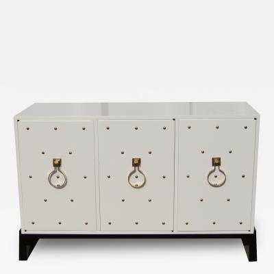 Tommi Parzinger Three Door Cabinet by Tommi Parzinger for Parzinger Originals