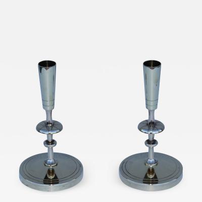 Tommi Parzinger Tommi Parzinger Brass Candle Holders