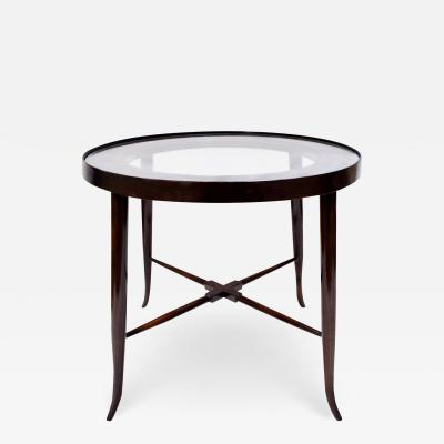 Tommi Parzinger Tommi Parzinger Elegant Side Table With Tapering Legs 1950s