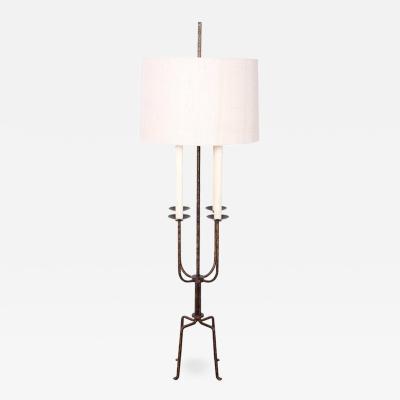 Tommi Parzinger Tommi Parzinger Gilt Iron Floor Lamp