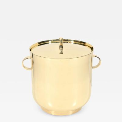 Tommi Parzinger Tommi Parzinger Polished Brass Ice Bucket