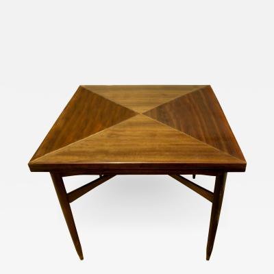 Tommi Parzinger Tommi Parzinger Rare Flip Top Game Table 1950s