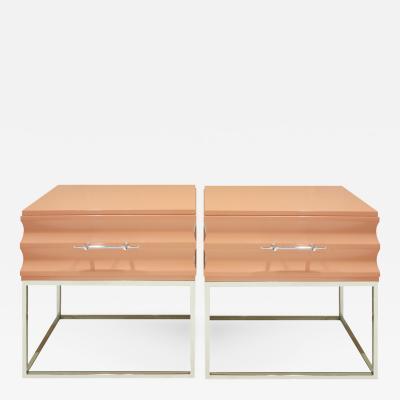 Tommi Parzinger Tommi Parzinger Sculpted Bedside Tables 1960s