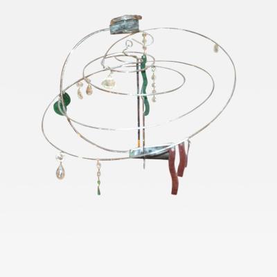 Toni Cordero di Montezemolo An Artemide Light Fixture Artwork by Toni Cordero Montezemol
