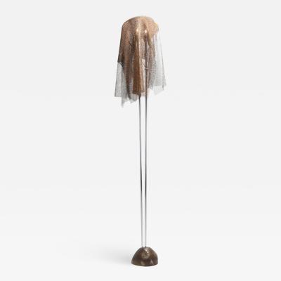 Toni Cordero di Montezemolo Artemide ChainMail Floor Lamp Anchise by Toni Cordero 1980s