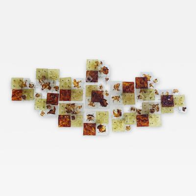 Toni Zuccheri 13 Venini modular wall or flush lights mod Patchwork