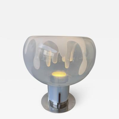 Toni Zuccheri Lamp Murano Glass and Metal by Toni Zuccheri for VeArt Italy 1970s